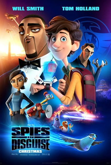 Spies in Disguise poster.